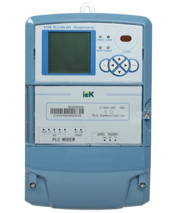 Концентратор STAR PLC+RS-485 IEK арт. CME-1C8-PLC